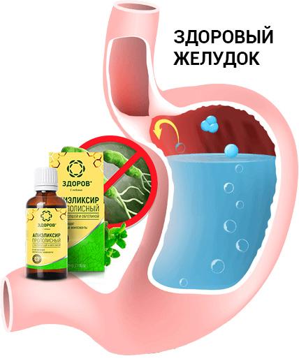 Купить эликсир ЗДОРОВ от гастрита и язвы в аптеке