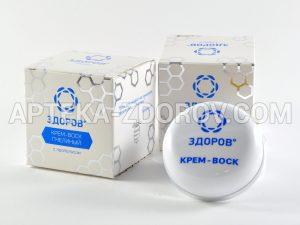 Купить в аптеке крем-воск ЗДОРОВ от морщин