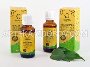Купить в аптеке прополисный эликсир ЗДОРОВ для иммунитета
